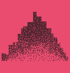 night city dark urban scape night cityscape in vector image vector image