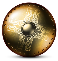 Shield celtic vector