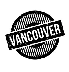 Vancouver rubber stamp vector