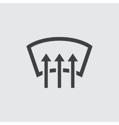 Car heating icon vector image
