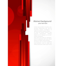 Abstract red background with lines vector