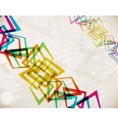 retro grunge background eps10 vector image