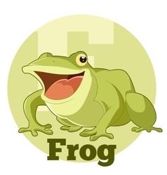 ABC Cartoon Frog vector image vector image