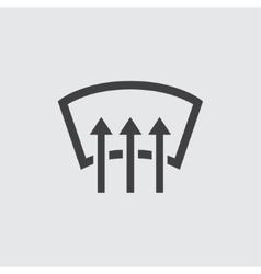 Car heating icon vector image vector image