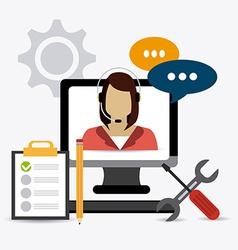 Customer design vector
