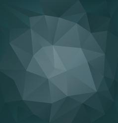 Petrol dark blue triangular pattern background vector