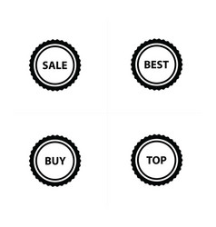 Price set icon design vector