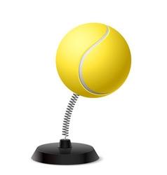 Tennis souvenir vector
