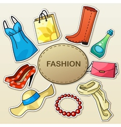 Fashion vector
