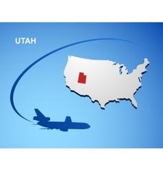 Utah vector image