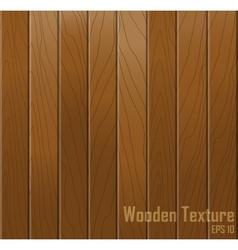 Wooden texture background vector image