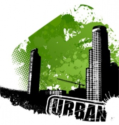 urban art vector image