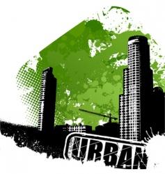 urban art vector image vector image