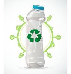 Recycle plastic vector