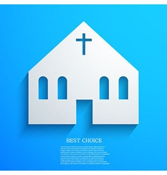 Christian background Eps10 vector image