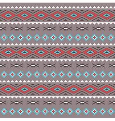 Tribal Boho Seamless Pattern vector image