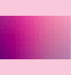 abstract violet colorful lowploly of many vector image