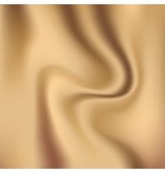 Creamy glossy silk abstract background vector