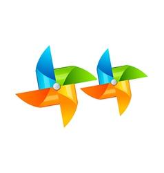 Icon pinwheel vector