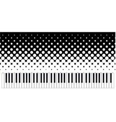 keyboard grunge vector image vector image