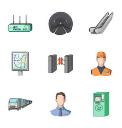 public electric transport and other web icon in vector image