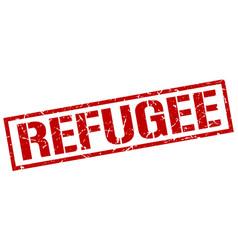 Refugee stamp vector