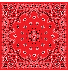 bandana  colorful vector image