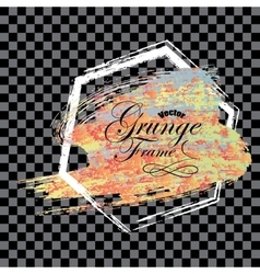 Abstract background Grunge brush vector image vector image