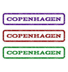 Copenhagen watermark stamp vector