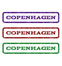 Copenhagen watermark stamp vector