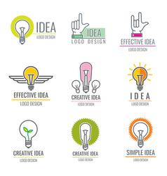 creative idea digital media smart brain concept vector image vector image