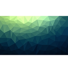 Gradient abstract polygon background vector