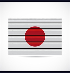 Japan siding produce company icon vector image vector image