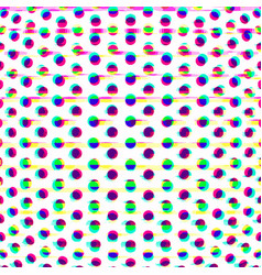 particles glitch abstract surface background vector image vector image