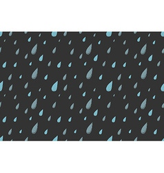 Rain pattern night vector image vector image