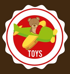 Toys graphic vector