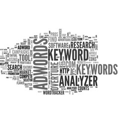 Adwords analyzer review pros and cons text word vector