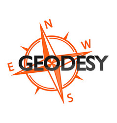 Geodesy and the wind rose symbol vector