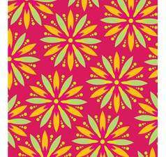 Wallpaper flower vector image vector image