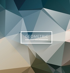 Business style polygonal background vector