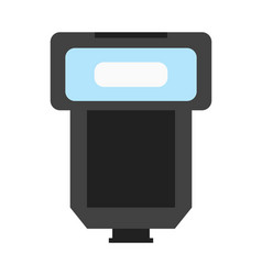 Professional photo flash icon vector