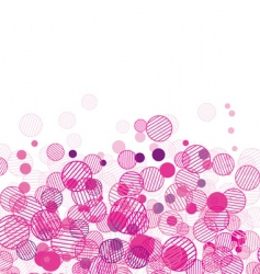 abstract background bright vector image