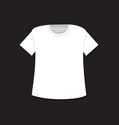 T-shirt template and mockup vector