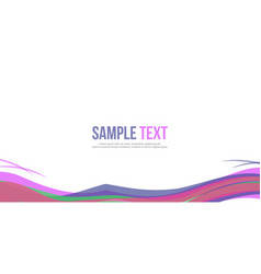 website header style abstract background vector image vector image