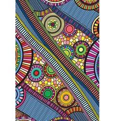 Zentangle colourful vector