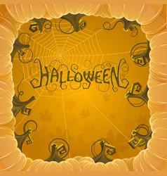 Cover halloween vector