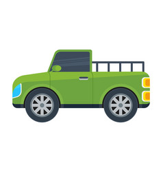 Pickup truck isolated icon vector