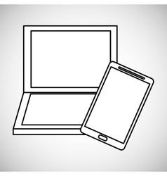 Communication design Media icon Flat vector image