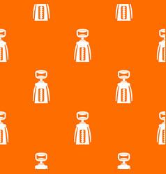 modern corkscrew pattern seamless vector image vector image