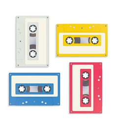 Audio tapes vector